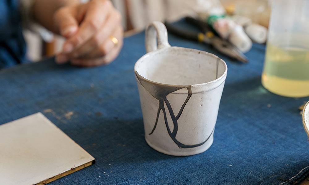 身近な金継ぎを習う Part1 金継ぎで新たな美しさを 纏う現代の器