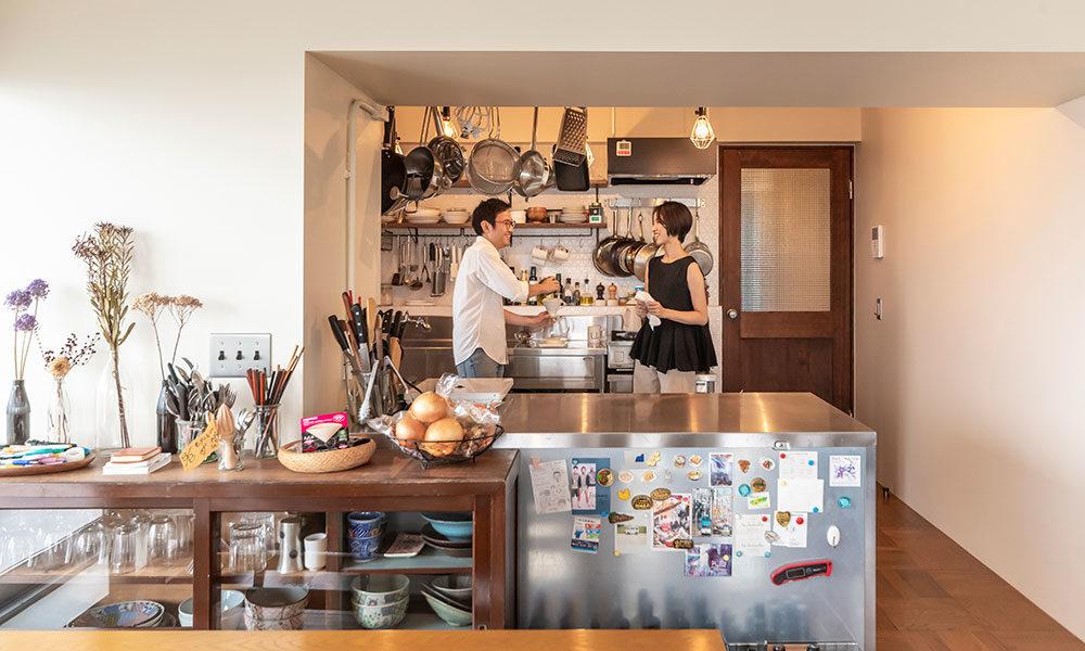 趣味に没頭できる自分だけの秘密基地 本格的なキッチンでリモート期間も充実。
