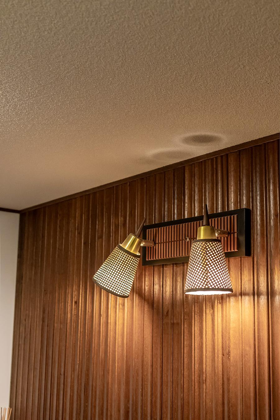 米国ヴィンテージ照明は「ACME Furniture」で購入。