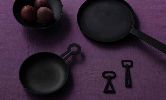 国内外で注目を集める釡定の鉄器 テーブルに並べても美しい南部鉄器の道具