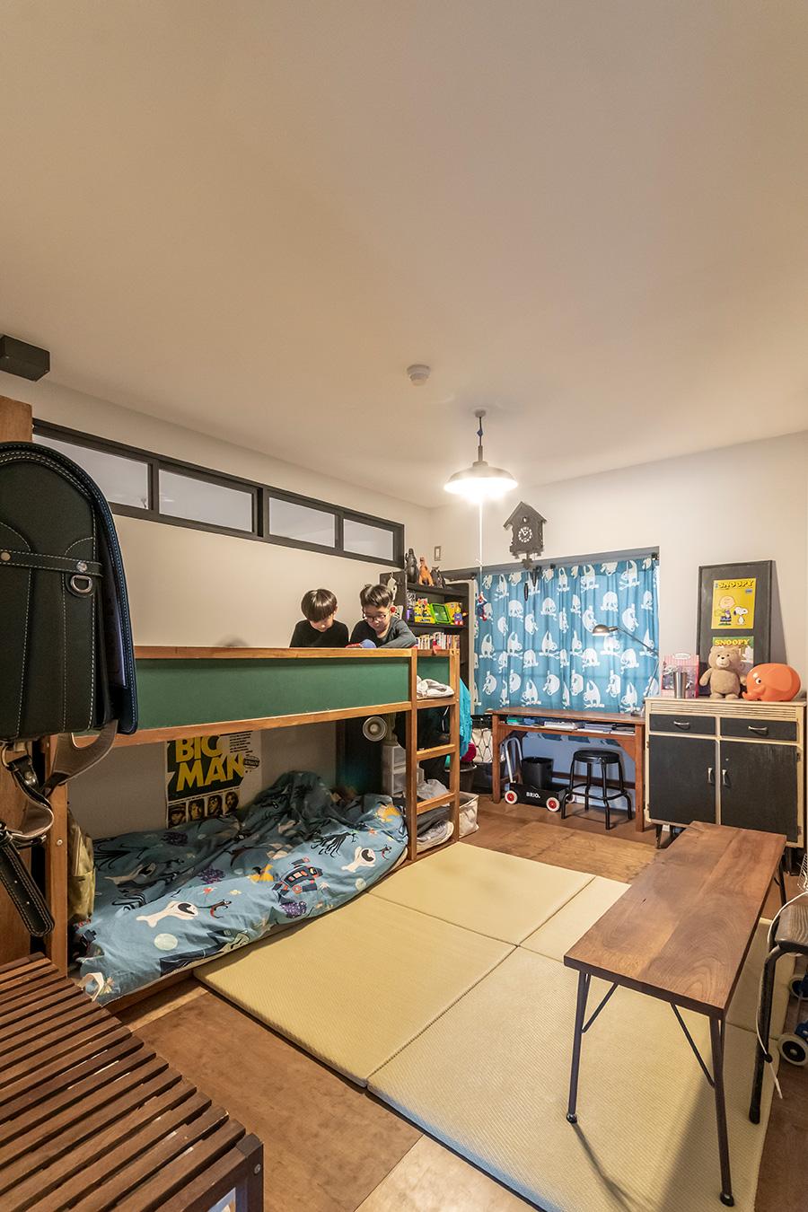子供部屋の総面積は約11㎡。