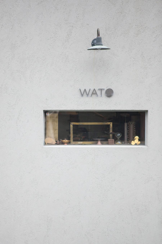 鎌倉・大町に静かに佇むアトリエショップ「WATO」。新しい日本のものづくりをここから発信。