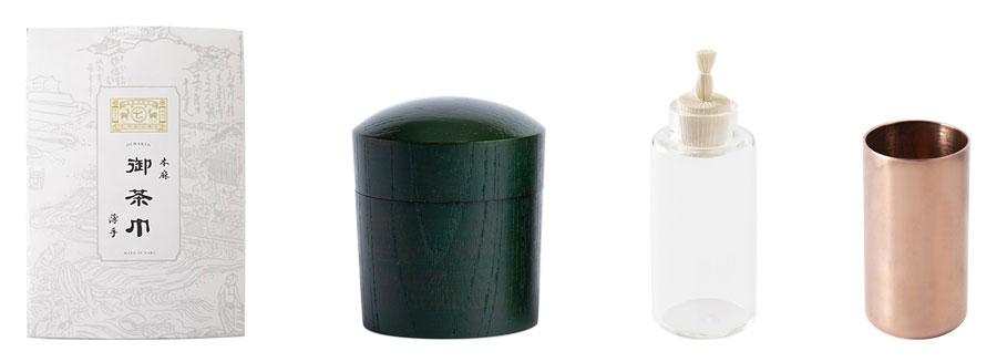 伝統的なかたちや素材にとらわれない、モダンで美しいデザインの道具。