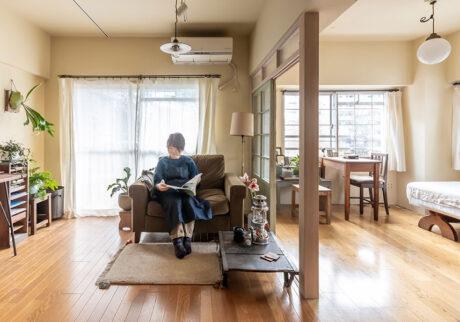 25年暮らした物件を半リノベーション 大好きなお店で買い集めた家具を主役に
