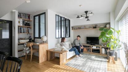 角部屋を活かしたリノベーション インテリアコーディネーターが造る 見栄えと実用性を兼ね備えた空間づくり