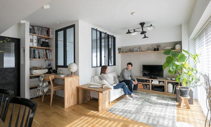 角部屋を活かしたリノベーション インテリアコーディネーターが造る見栄えと実用性を兼ね備えた空間