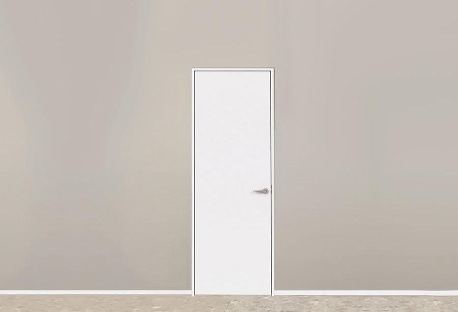 シンプル&ミニマルに徹したドアを標準で。