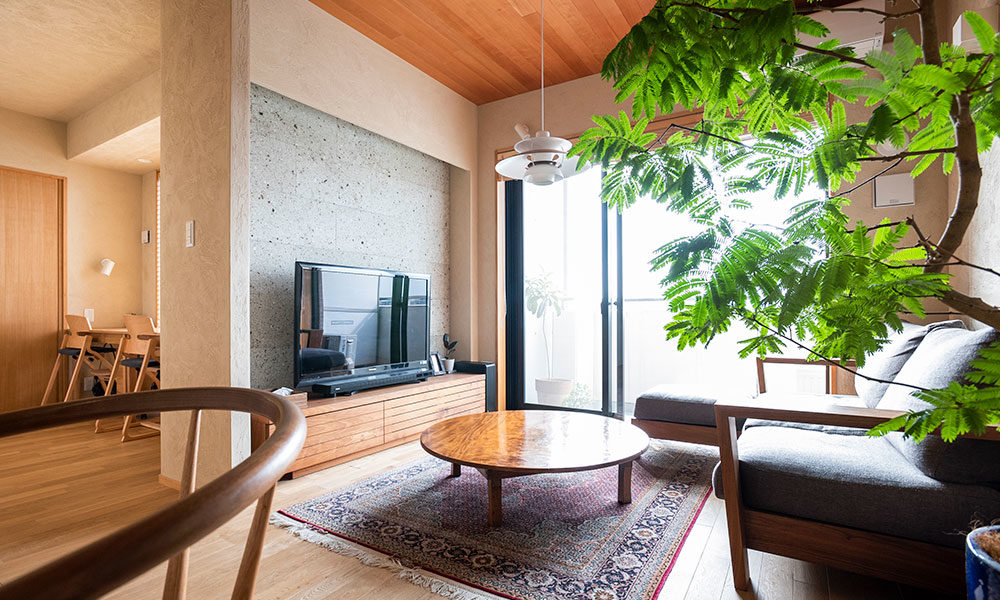 安らぎに包まれる家  心地よさを追求した 普遍的な住まい