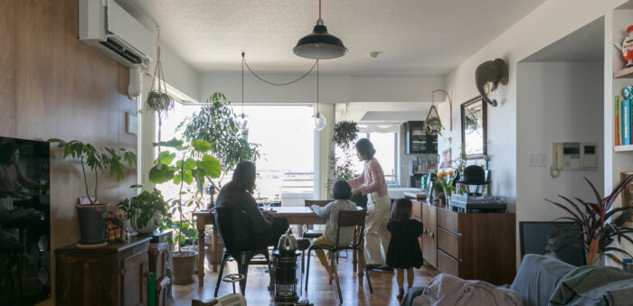 築17年のマンションをリノベーション こだわりのインテリアを揃えたヴィンテージテイストの住まい
