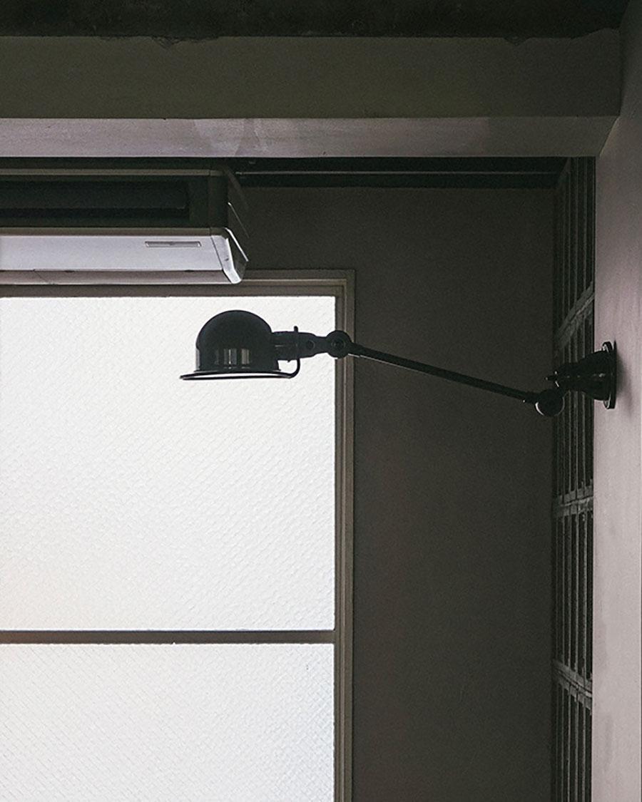 JIELDE LOFT WALL LAMP WITH ARM ( Grey )  head : φ150mm arm : 400mm ¥47,300