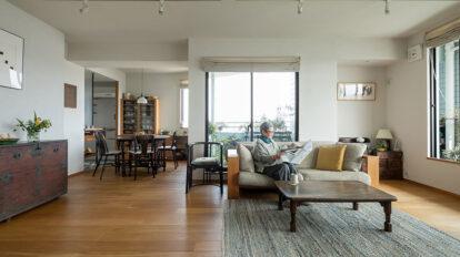 家具と器を生かす 居心地の良い家は プライベートレストランにも