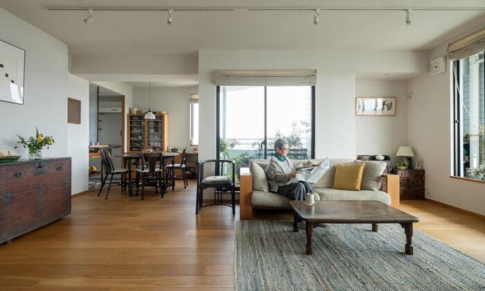家具と器を生かす 居心地の良い家はプライベートレストランにも