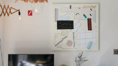 アートをもっと身近に アートを飾れる家を作り 作品をじっくりと集める