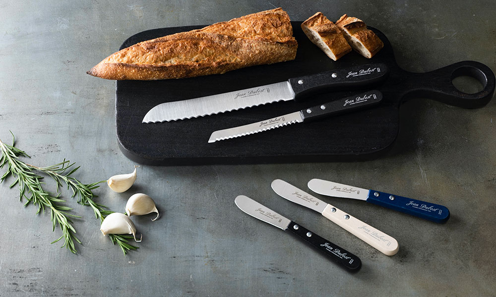 フランス発、ジャンデュボのナイフ 使いやすくてお洒落な ブレッド&バターナイフ