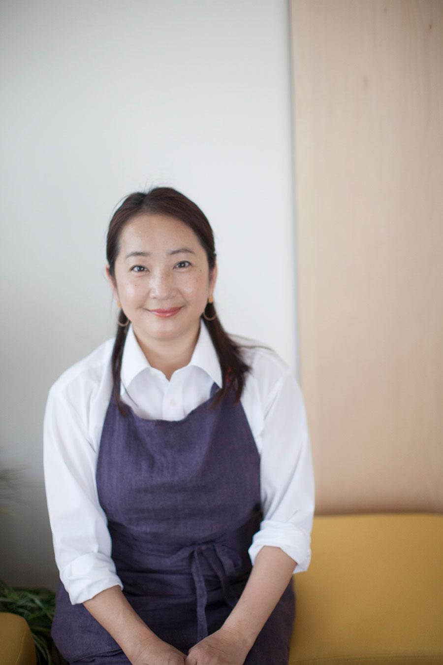 「クラディ」代表の石井麻紀子さん。DIYサービスやDIY学校で、DIYの楽しみを伝える。