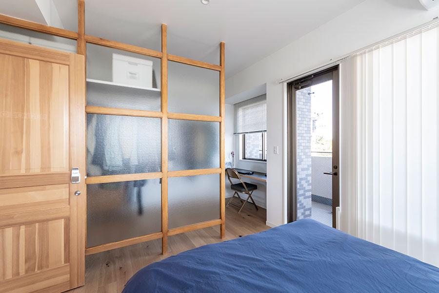 寝室とWICは合わせて約17㎡。