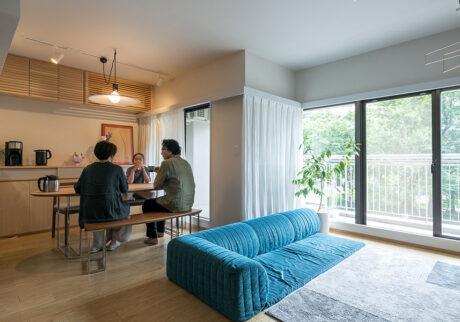 建具や造作家具で暮らしを整える 小規模リノベで叶えた心地よい生活空間