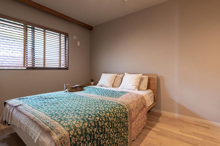 寝室は約12㎡と広々。