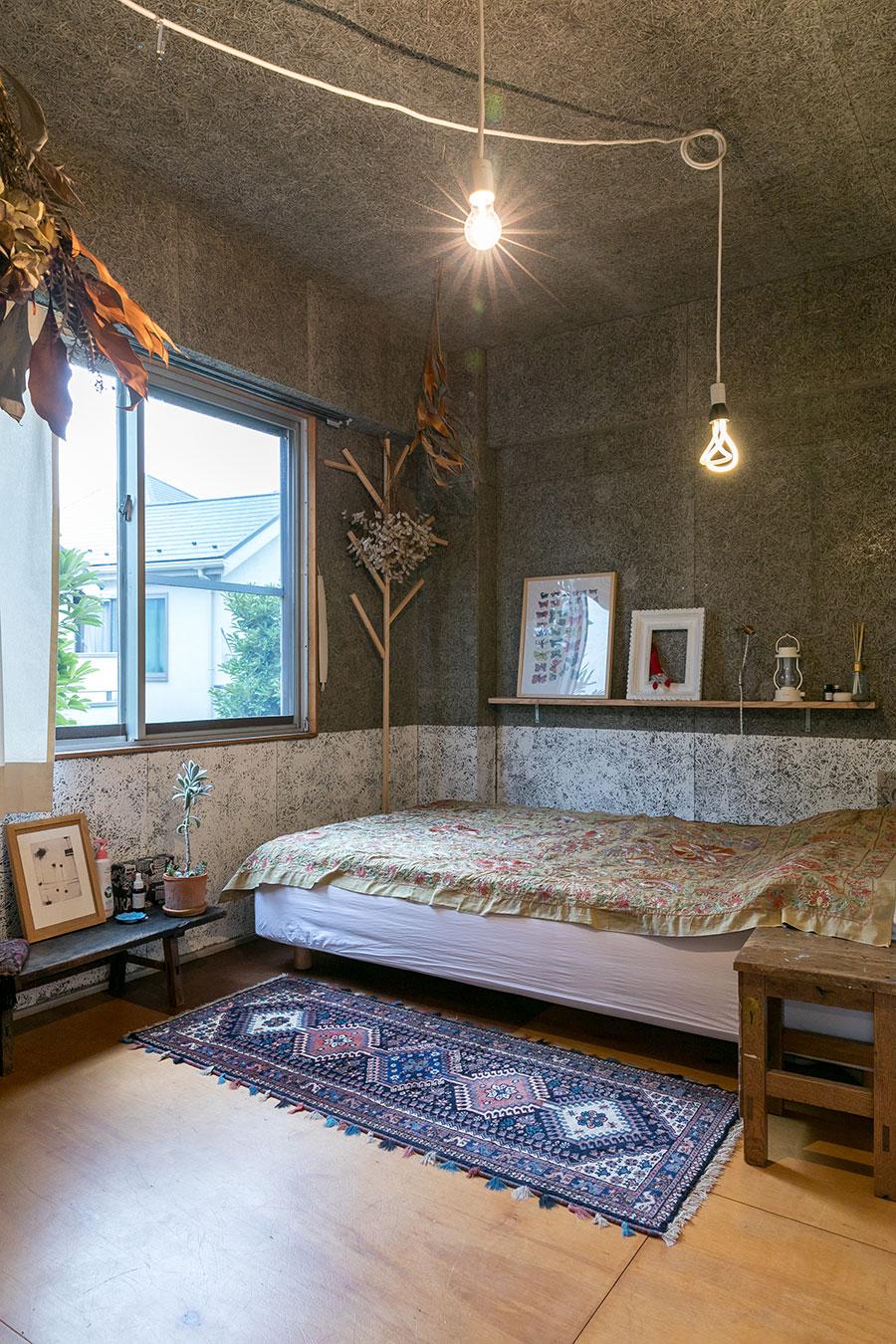 バスルームの奥側にある未来さんのベッドルーム。