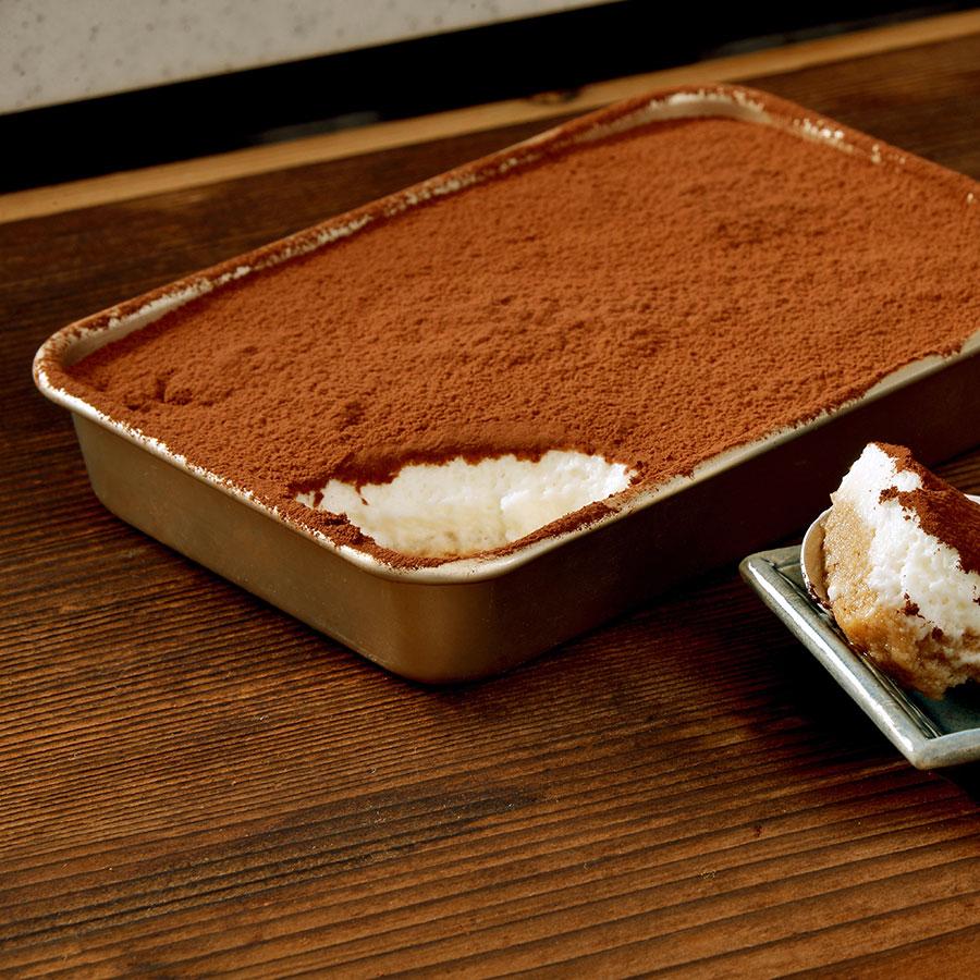 すばやく冷やすことができるので、ティラミスやゼリーなどのデザート作りにぴったり。