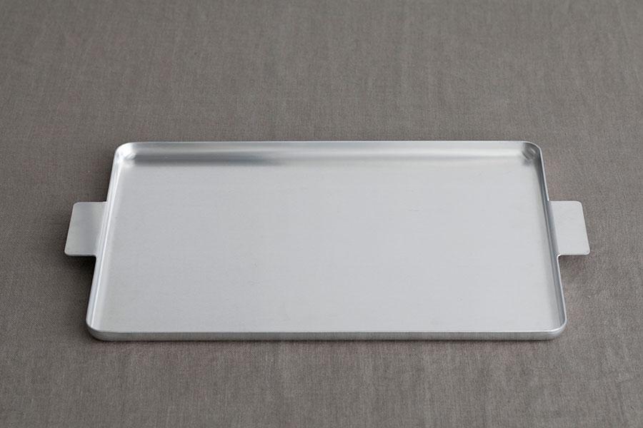 アルミニウム トレイ レクタングル W350 D250 H15mm ¥4,180 ユミコ イイホシ ポーセリン